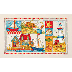 Leti Stitch Borduurpakket Gone to the Beach - Leti Stitch
