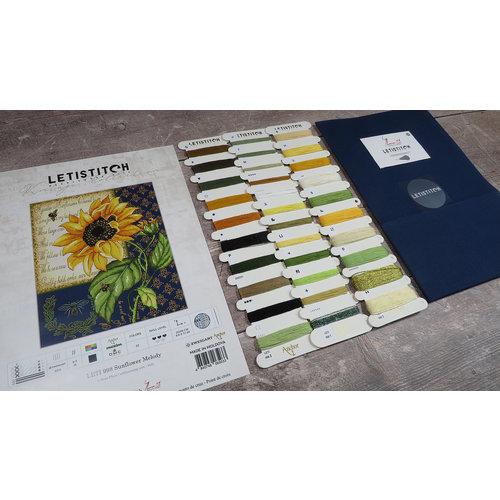 Leti Stitch Borduurpakket Sunflower Melody - Leti Stitch