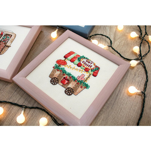Leti Stitch Borduurpakket Happy Holidays - Leti Stitch