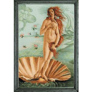 RIOLIS Borduurpakket The Birth of Venus after S.Bottichelli's Painting - RIOLIS