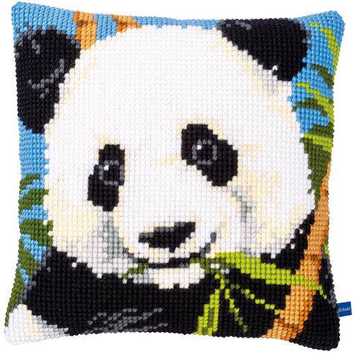 Vervaco Kruissteekkussen kit Panda