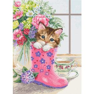 Luca-S Borduurpakket Pretty Kitten - Luca-S