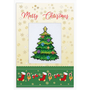 Luca-S Postcard Merry Christmas