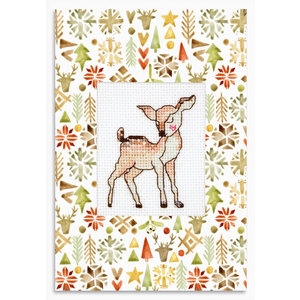 Luca-S Postcard Deer