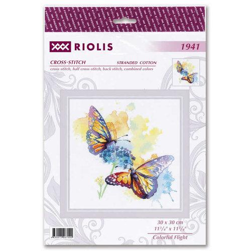 RIOLIS Borduurpakket Colorful Flight - RIOLIS
