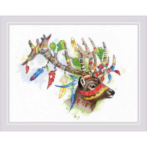 RIOLIS Borduurpakket Noble Deer - RIOLIS