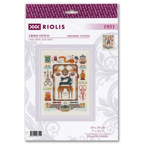 RIOLIS Borduurpakket Favourite Hobby - RIOLIS