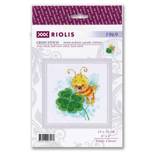 RIOLIS Borduurpakket Lucky Clover - RIOLIS