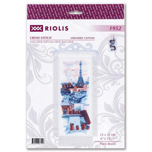RIOLIS Borduurpakket Paris Roofs - RIOLIS