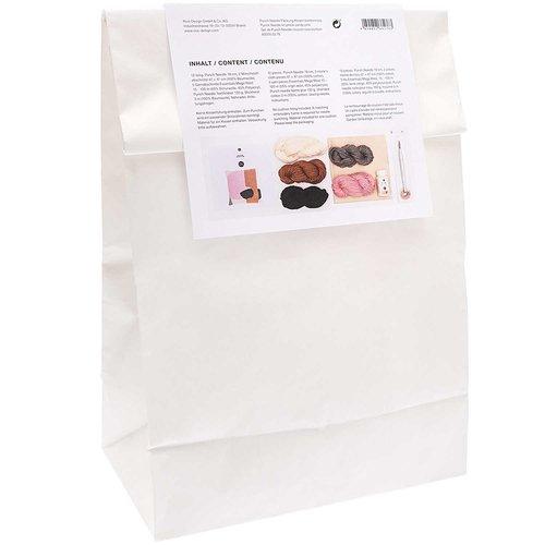 Rico Borduurpakket Punch Needle - Kussen Candypink