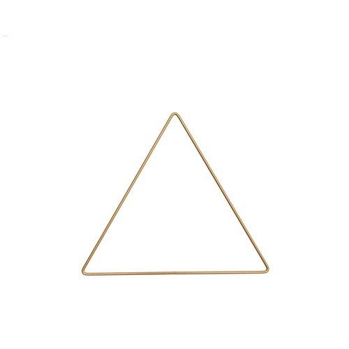 Rico Metalen Driehoek Goud - 20 cm