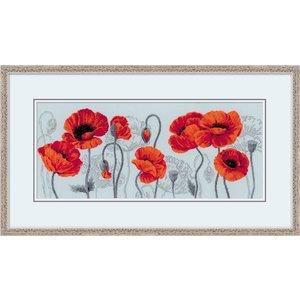 RIOLIS Scarlet Poppies