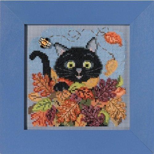 Mill Hill Buttons Beads Autumn Series - Playful Cat
