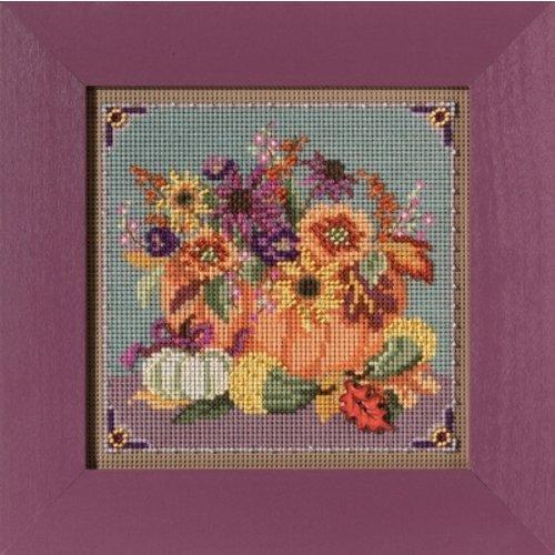 Mill Hill Buttons Beads Autumn Series - Floral Pumpkin