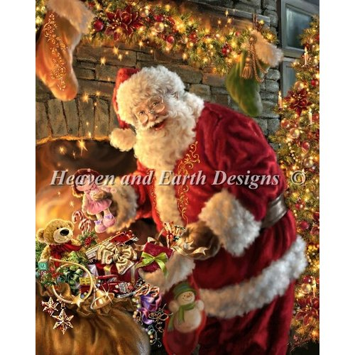 Heaven and Earth Designs  Dona Gelsinger: Filling the Stocking