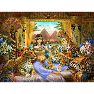 Heaven and Earth Designs  Jan Patrik Krasny: Egyptian Queen of the Leopards