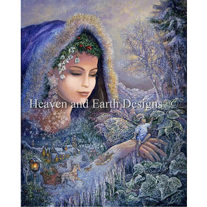 Heaven and Earth Designs  Josephine Wall: Spirit of Winter