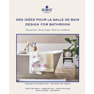 DMC Kruissteekboek Ideeën voor de badkamer