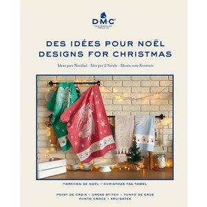 DMC Kruissteekboek Ideeën voor Kerstmis