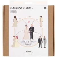 Borduurpakket Figurico - Wedding - 20 cm