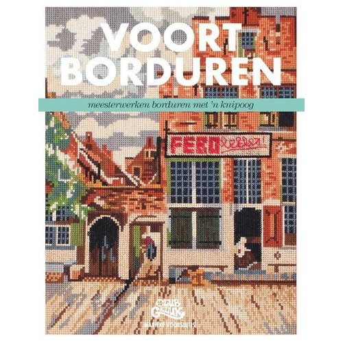 Kosmos Borduurboek Marieke Voorsluijs - Voortborduren