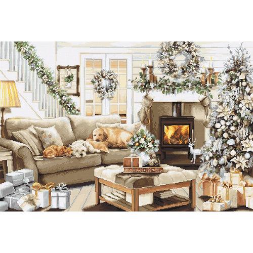 Luca-S Borduurpakket Dreaming of a White Christmas - Luca-S