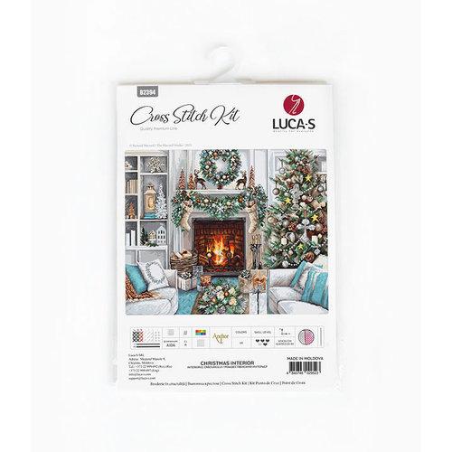 Luca-S Borduurpakket Christmas Interior - Luca-S