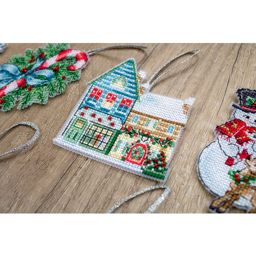 Leti Stitch Borduurpakket Christmas Toys Kit nr. 2 - Leti Stitch