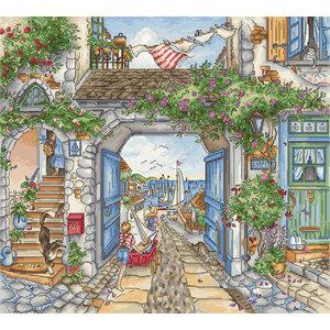 Leti Stitch Borduurpakket To The Harbor - Leti Stitch
