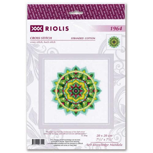 RIOLIS Borduurpakket Self-knowledge Mandala - RIOLIS