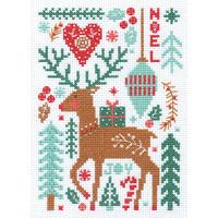 Borduurpakket Nordic Winter - DIMENSIONS