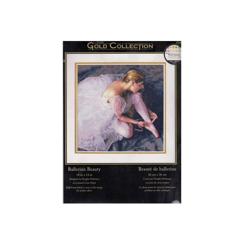 Dimensions Borduurpakket The Gold Collection: Ballerina Beauty - DIMENSIONS