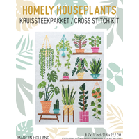 Borduurpakket Homely Houseplants V1