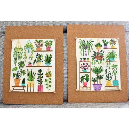 Stitchonomy  Borduurpakket Homely Houseplants V1