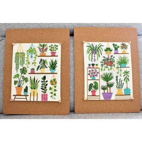 Stitchonomy  Borduurpakket Homely Houseplants V2
