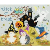 Borduurpakket Margaret Sherry - Trick Or Treat - Bothy Threads
