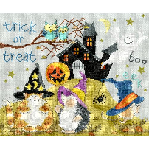 Bothy Threads Borduurpakket Margaret Sherry - Trick Or Treat - Bothy Threads