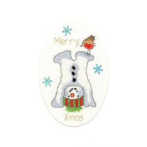 Bothy Threads Borduurpakket Margaret Sherry - Frosty Fun - Bothy Threads