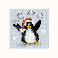 Borduurpakket Margaret Sherry - PPP Playing Snowballs - Bothy Threads