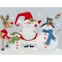Borduurpakket Karen Tye Bentley - Snowy Friends - Bothy Threads
