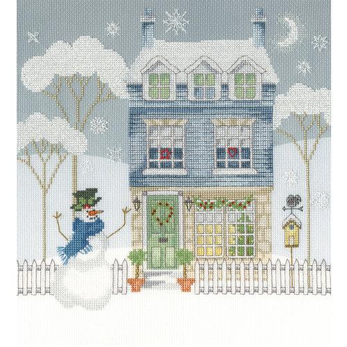 Bothy Threads Borduurpakket Karen Tye Bentley - Home For Christmas - Bothy Threads