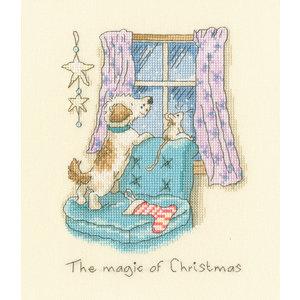 Bothy Threads Borduurpakket Anita Jeram - The magic of Christmas - Bothy Threads