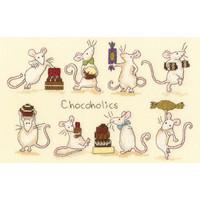 Borduurpakket Anita Jeram - Chocoholics - Bothy Threads