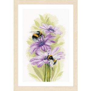 Lanarte Telpakket kit Dansende bijen (aida)