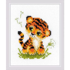 RIOLIS Borduurpakket Baby Tiger - RIOLIS