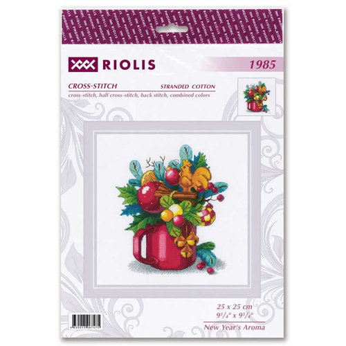 RIOLIS Borduurpakket New Year's Aroma - RIOLIS