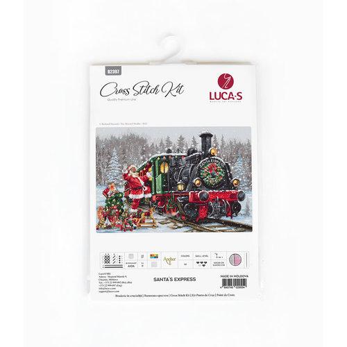 Luca-S Borduurpakket Santa's Express - Luca-S
