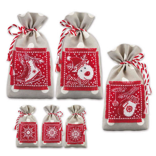 RIOLIS Borduurpakket Winter Gifts - RIOLIS