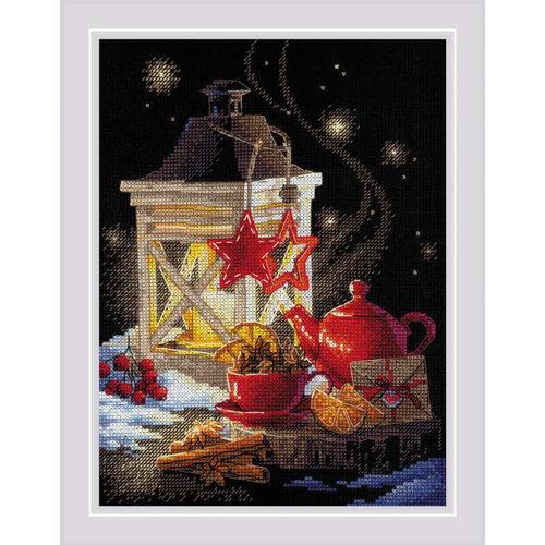 RIOLIS Borduurpakket Winter Tea Time - RIOLIS