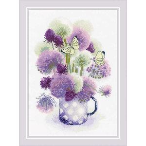 RIOLIS Borduurpakket Purple Allium - RIOLIS